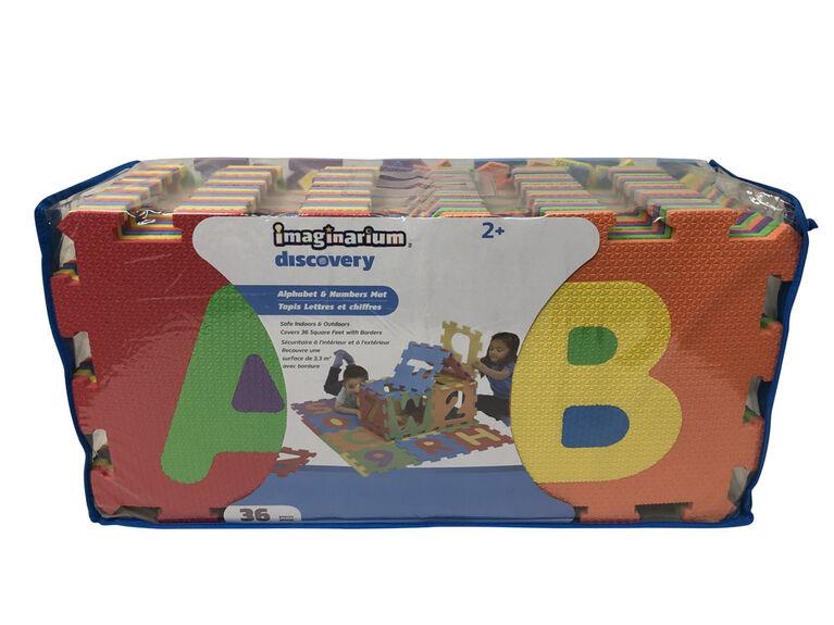 Imaginarium Discovery - Alphabet & Numbers Mat