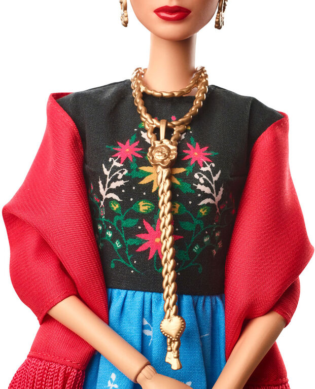 Barbie Inspiring Women Doll - Frida Kahlo