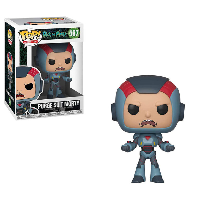 Funko POP! Animations: Rick and Morty - Purge Suit Morty Vinyl Figure