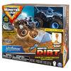 Monster Jam, Megalodon Monster Dirt Starter Set, Featuring 8oz of Monster Dirt and Official Monster Jam Truck