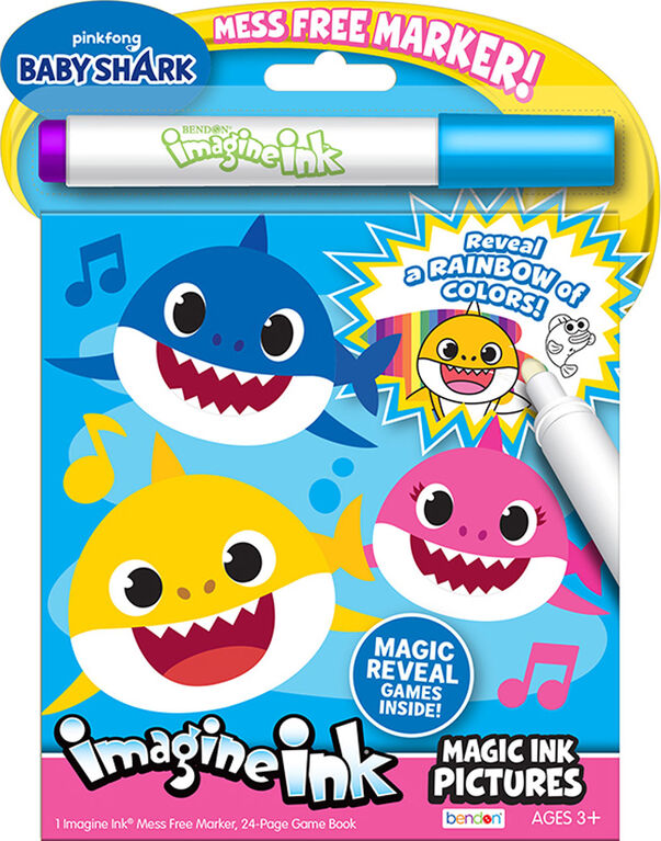 Baby Shark Imagine Ink Pictures