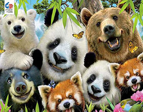 Ceaco Selfies Bear Essentials Puzzle 550 pièces