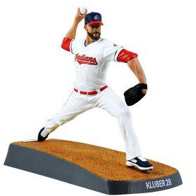 Corey Kluber Indians de Cleveland Figurine de baseball de 6 pouces.