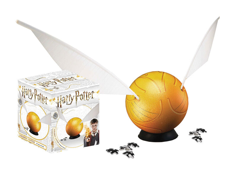"""Harry Potter 6"""" Snitch, Spherical Puzzle - English Edition"""
