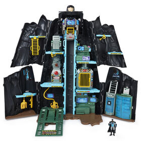 "Batman, Bat-Tech Batcave, Giant Transforming Playset with Exclusive 4"" Batman Figure and Accessories"
