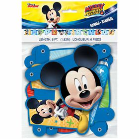 Mickey Large Jointed Banner - English Edition