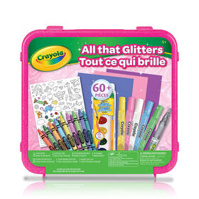 Crayola - All that Glitters Art Set