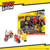Ricky Zoom: Maxwell & the Bike Buddies 3 Pack - 3 & 4 inch Action Figures - Free-Wheeling, Free Standing Toy Bikes - R Exclusive
