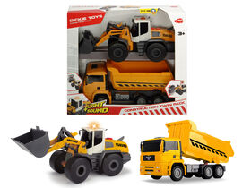 Dickie Toys - Construction Twin Pack.