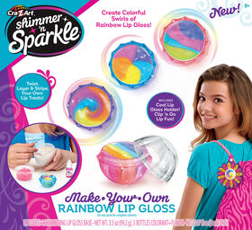 Shimmer and Sparkle Rainbow Lip Gloss