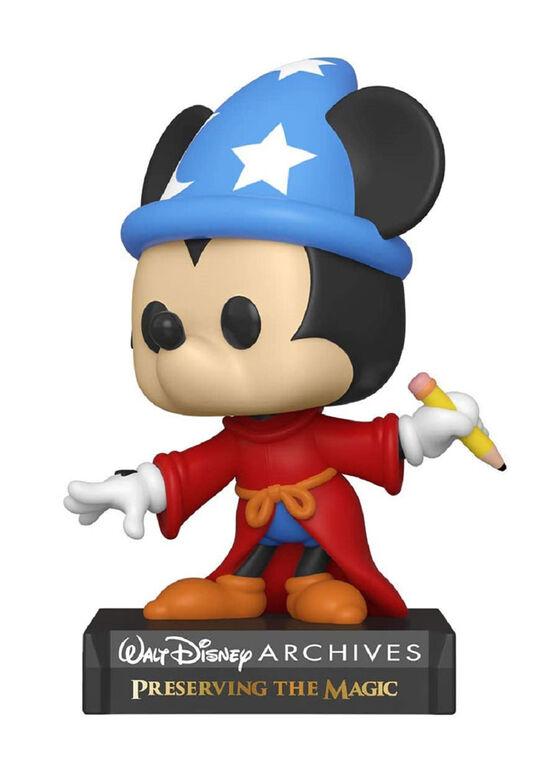 Figurine en Vinyle Sorcerer Mickey par Funko POP! Disney Archives