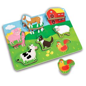 Woodlets - Chunky Puzzle Farm - R Exclusive