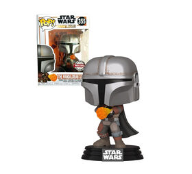 Figurine en Vinyle The Mandalorian Gauntlet par Funko POP! The Mandalorian - R Exclusif