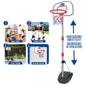 Jouet De Système De Basketball Junior 4 En 1 - NBA - Notre exclusivité