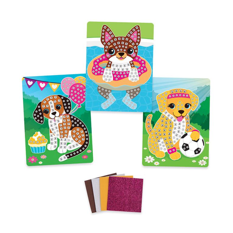 Sticky Mosaics Travel Puppies - R Exclusive