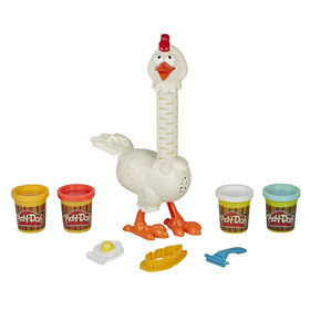 Play-Doh Animal Crew, Cluck-a-Dee Plumes en folie