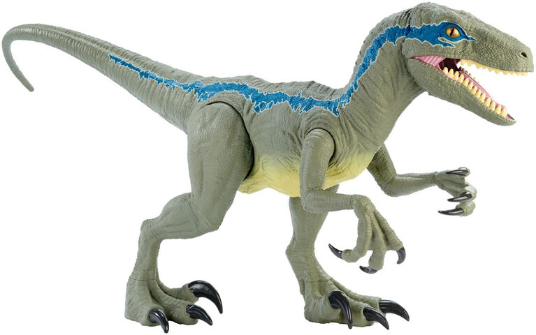 Jurassic World Super Colossal Velociraptor Blue