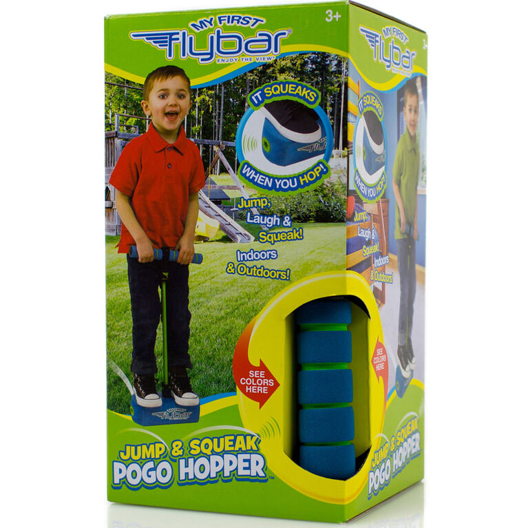 Flybar My First Foam Pogo Jumper for Kids 3 and Up Blue