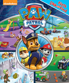 My First Look and Find Paw Patrol