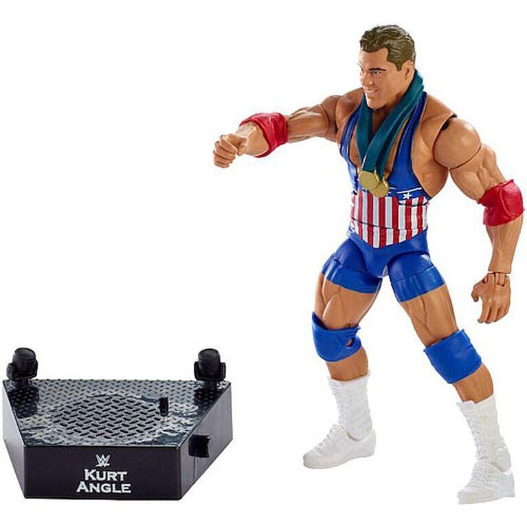 WWE - Collection Elite - Entrance Greats - Figurine articulée - Kurt Angle.