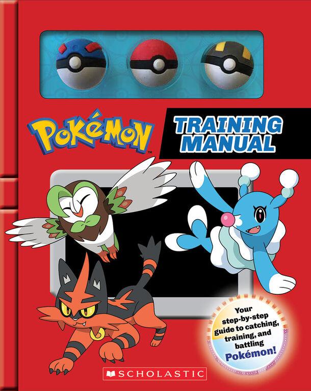 Scholastic - Pokemon: Training Manual - Édition anglaise