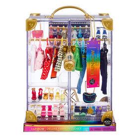 Jeu de penderie de mode de luxe Rainbow High - Créez + de 400 combinaisons de mode !