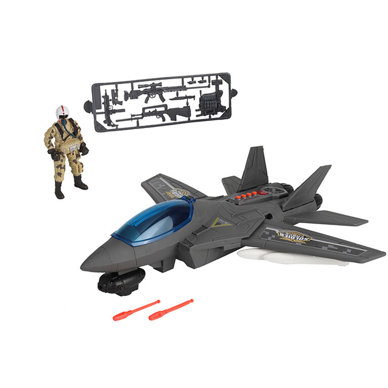 Soldier Force Air Hawk Attak Plane Playset - R Exclusive