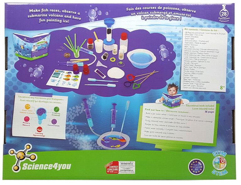 Science4you -Expériences avec de l'eau