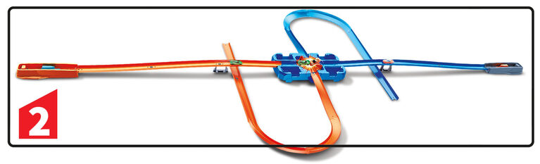 Hot Wheels - Track Builder - Coffret Cascades de luxe