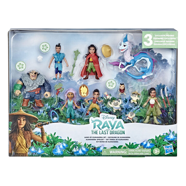 Disney's Raya and the Last Dragon Land of Kumandra Set - R Exclusive