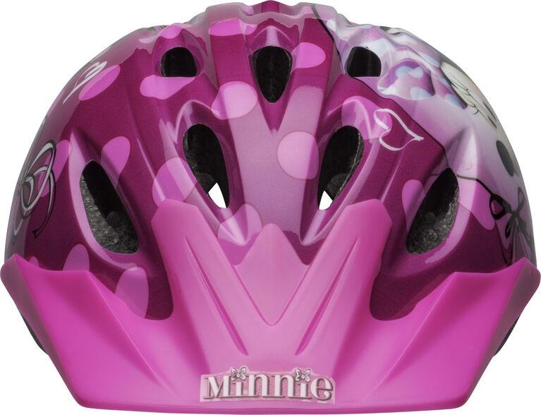 Minnie Mouse- Child Bike Helmet - Fits head sizes 50 - 54 cm