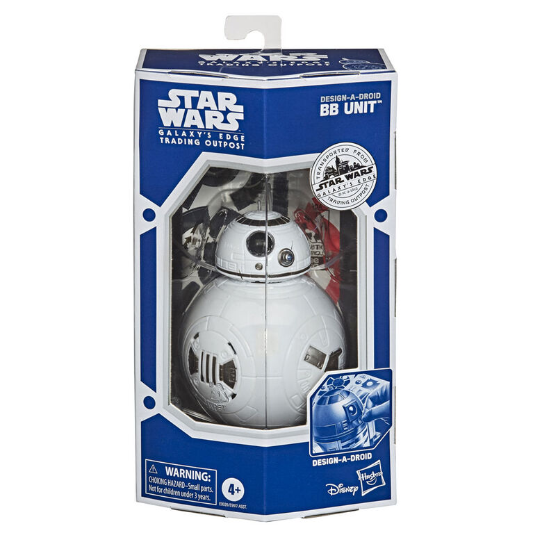 Star Wars Design-A-Droid Star Wars Galaxy's Edge Collectible 12-Inch-Scale Customizable BB Unit Action Figure - R Exclusive