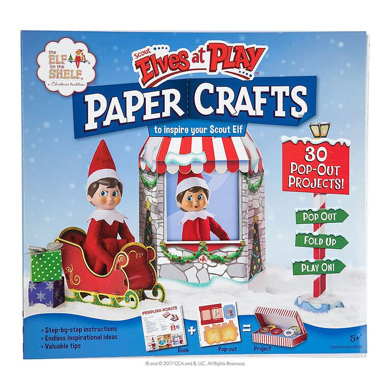 The Elf on the Shelf - Scout Elves at PlayPaper Crafts
