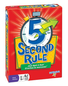 5 Second Rule Game - English Edition - styles may vary