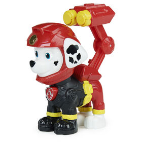 PAW Patrol, Moto Pups Marshall Collectible Figure with Wearable Deputy Badge