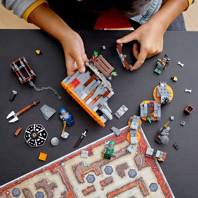 LEGO Ninjago Le donjon du Crâne 71717