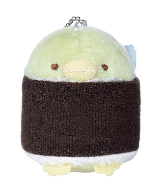 Sumikko Gurashi Plush Stuffed Animal Keychain Penguin-Maki (Sushi Roll) - English Edition