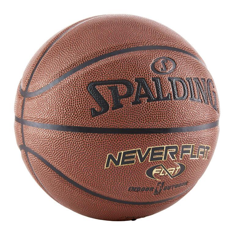 Spalding Ballon de basketball de qualité supérieure NBA Neverflat