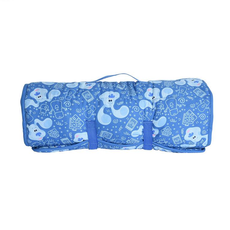 Toddler Nap Mat Blanket, Blues Clues
