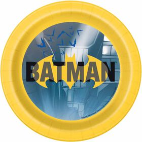 "Batman  7""  Plates, 8 pieces"
