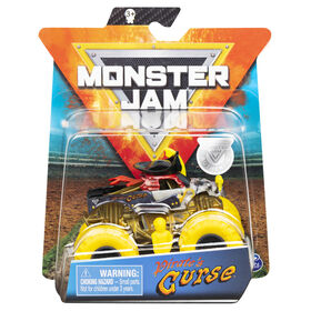 Monster Jam, Official Pirate's Curse Monster Truck, Die-Cast Vehicle, Muddy Mayhem Series, 1:64 Scale