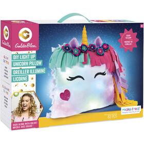 Goldie Blox Unicorn Pillow Glow