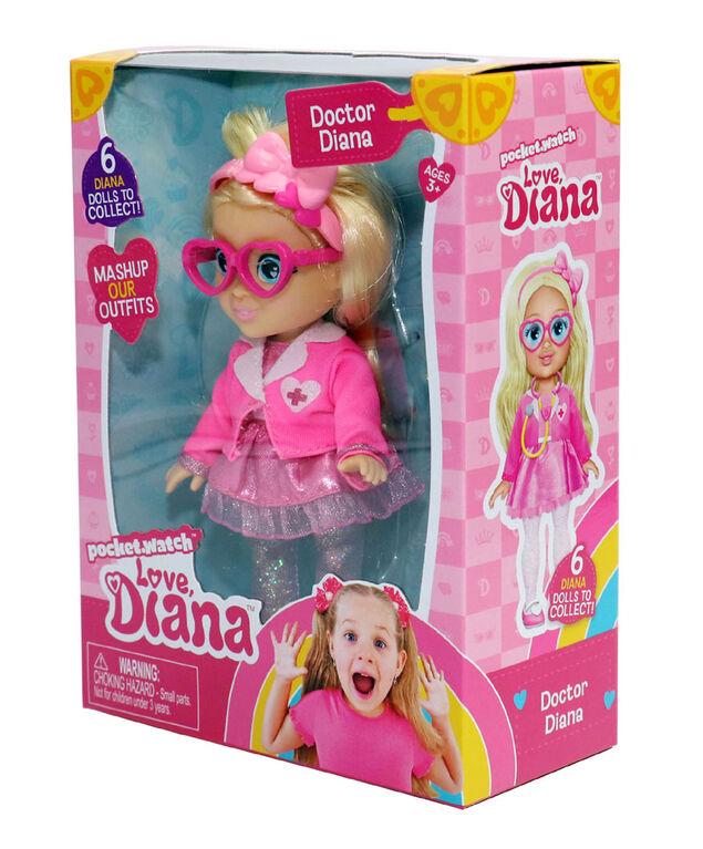 """Love, Diana - 6"""" Poupée Docteur Diana - Édition anglaise"""