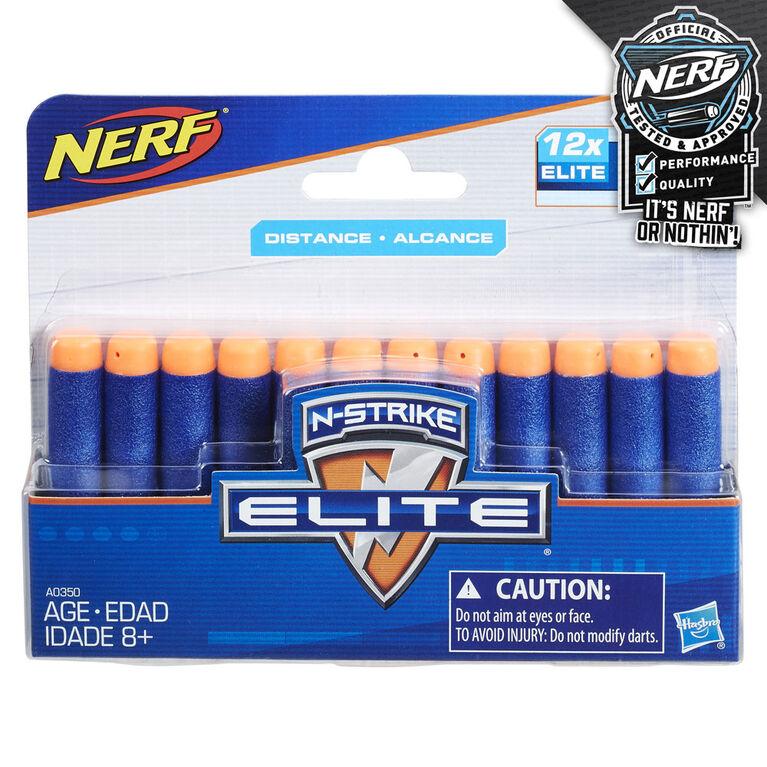 Nerf Official 12 Dart Elite Refill Pack