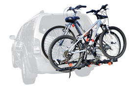 """Allen Sports Easy Load 2-Bike Carrier XR200 Tray for 2"""" and 1 1/4"""" hitch"""