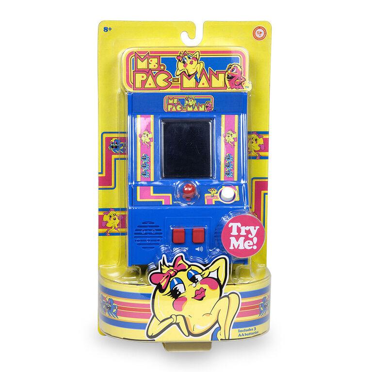 Arcade Classics - Ms. Pac-Man Retro Mini Arcade Game