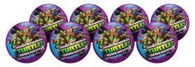 8 Pack Playball with Pump 10 inch Teenage Mutant Ninja Turtles