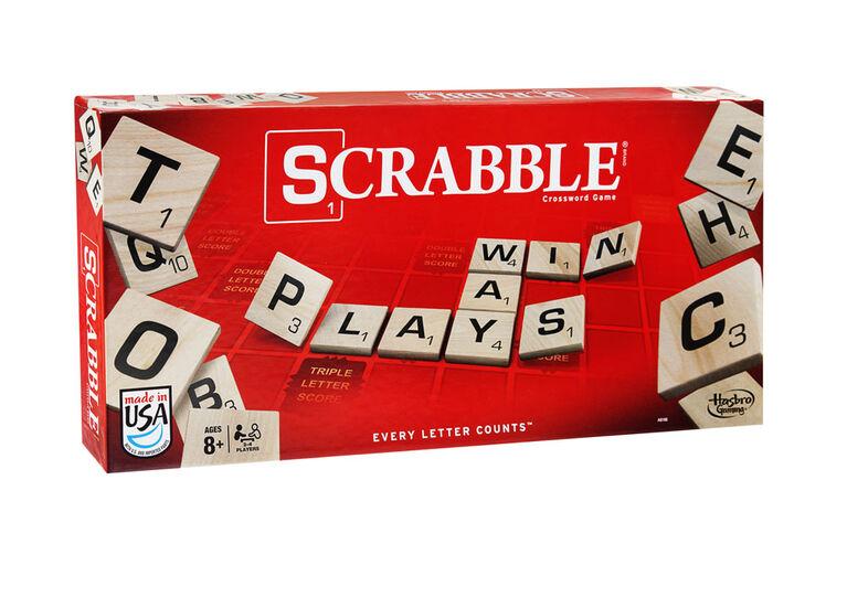 Hasbro Gaming - Scrabble - English Edition - styles may vary
