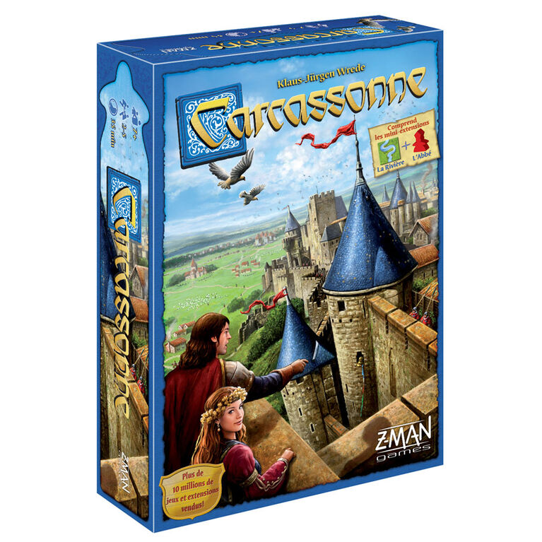 Carcassonne - French Edition