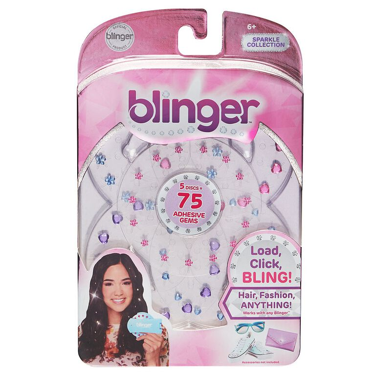 Blinger 5 Piece Refill Pack - Sparkle Collection - Jewel Pack